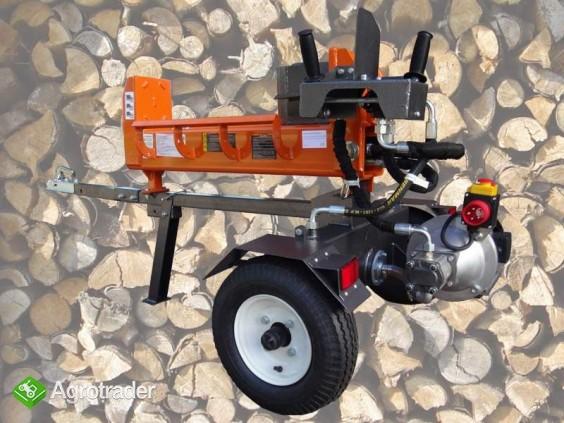 ŁUPARKA HYDRAULICZNA Double Action: nacisk 20/17t, silnik 2,2 kW, 62cm - zdjęcie 4