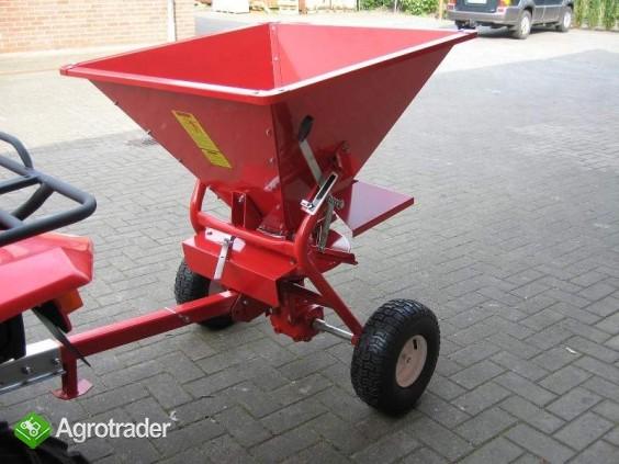 Rozsiewacz soli, piasku, nasion dla ATV, ciągników  itp  zbiornik 200l - zdjęcie 1