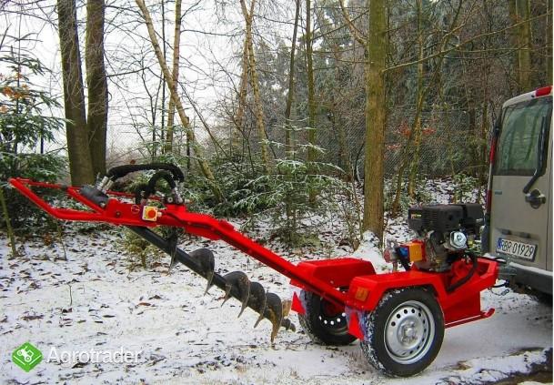 Wiertnica hydrauliczna glebowa o napędzie spalinowym 13 KM,  - zdjęcie 3