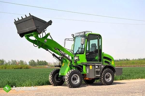 ŁADOWARKA KOŁOWA MODEL ZL12F wraz z osprzętem Udźwig max: 1200kg  - zdjęcie 7