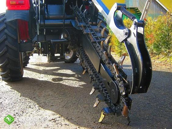 Koparka łańcuchowa napędzane z ciągnika rolniczego 120 CM - zdjęcie 1