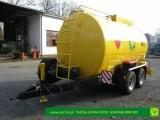 Zbiornik na paliwo na przyczepie 10000 litrów