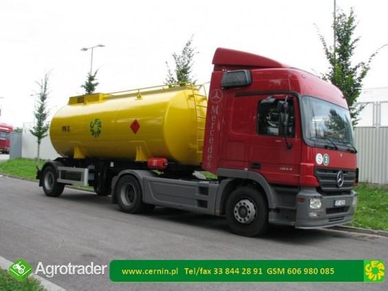 Zbiorniki na paliwo - przyczepa na paliwo  - zdjęcie 2