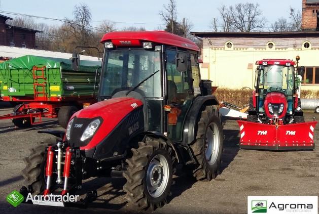 Ciągnik komunalny rolniczy 60 KM Tym T603 z tuzem jak nowy nie zetor - zdjęcie 6