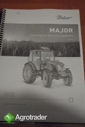 Instrukcja obsługi ciągnika ZETOR MAJOR 60, 80.