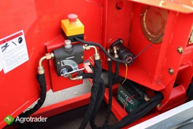 Rębak do gałęzi mobilny CPG6 spalinowy z homologacją rozdrabniacz - zdjęcie 6