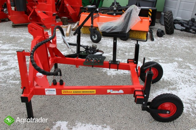 Pielnik hydrauliczny boczny Selmar H-2 pielniki - zdjęcie 2