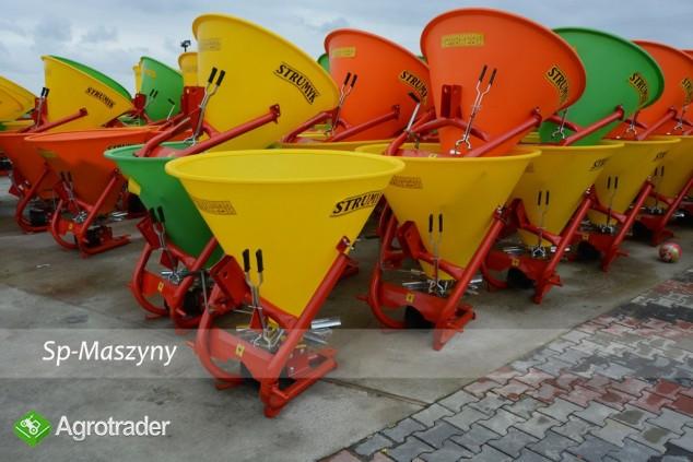 Rozsiewacz do nawozów Lejek 300 - 500 litrów 6-łopatek Transport  - zdjęcie 1