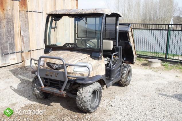 KUBOTA transporter RTV 4WD Diesel (2008) barwa maskujaca