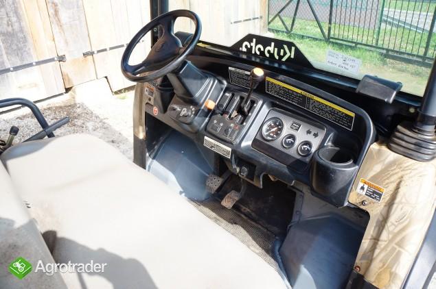 KUBOTA transporter RTV 4WD Diesel (2008) barwa maskujaca - zdjęcie 2