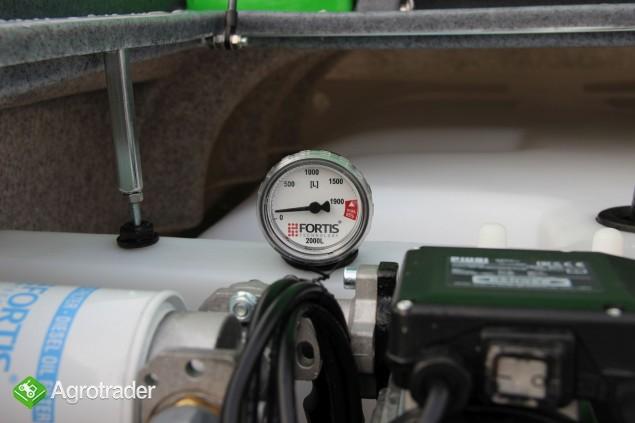 Zbiornik na paliwo on ropę fortis 2000 L cpn Agroline 2 - zdjęcie 1