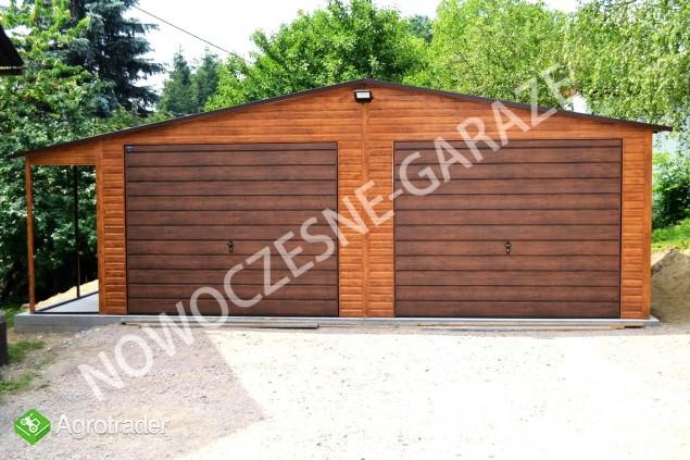 Garaż blaszany blaszak Wiata Hala Magazyn Domek Ogrodowy - zdjęcie 2