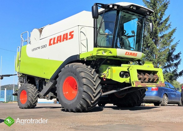 CLAAS LEXION 530 - 4X4 - 2010 ROK - V600 - zdjęcie 1
