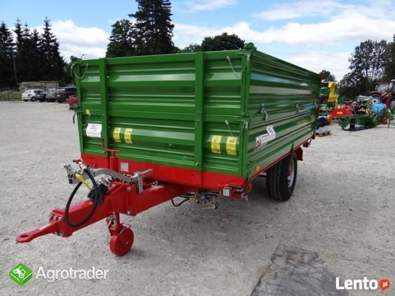 Przyczepa rolnicza 5 t jednoosiowa PRONAR T654/2 - zdjęcie 2