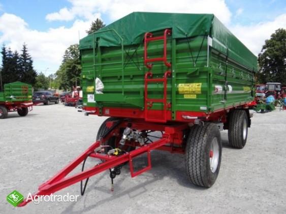 Przyczepa rolnicza 8 t paletowa PRONAR PT608 od ręki wyprzedaż