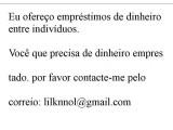 Oferta de empréstimo privado em Portugal - lilknnol@gmail.com