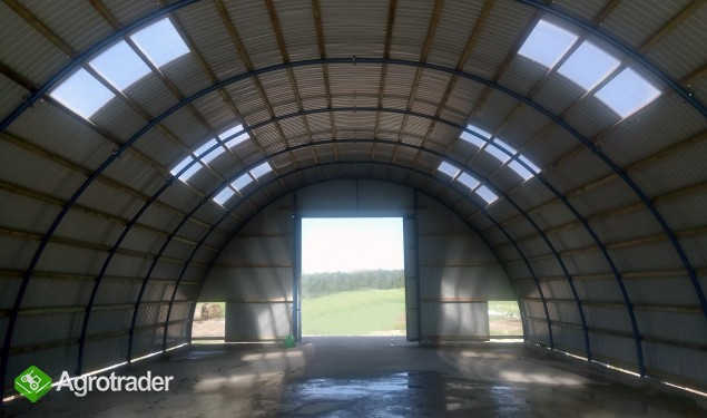 HALA łukowa tunelowa magazynowa hangar 11,8 x 25 - zdjęcie 5