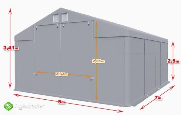 Całoroczna Hala namiotowa 5×7 × 2,5m/3,41m