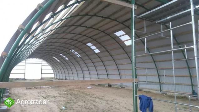 HALA stalowa łukowa hangar magazynowy 10,8 x 50 - zdjęcie 6