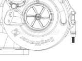 Turbosprężarka 319247 BorgWarner - Deutz