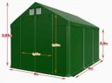 Całoroczna Hala namiotowa 4m × 6m × 2,5m/3,65m