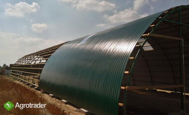 HALA łukowa tunelowa bydło obora chlew 11,8 x 30 - zdjęcie 2