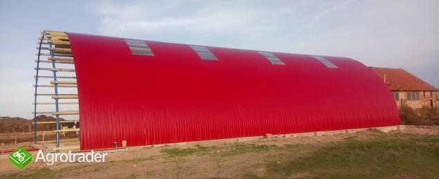 HALA stalowa łukowa tunelowa magazynowy 10,8 x 70 - zdjęcie 1