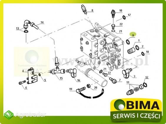 Oring układu hydraulicznego Renault CLAAS Ares 550,556 - zdjęcie 2