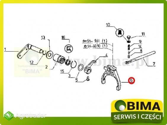 Używane widełki rewersu Renault CLAAS 113-14,120-14 - zdjęcie 2