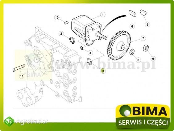 Uszczelniacz pompy hydrauliki Renault CLAAS Ares 546 - zdjęcie 1