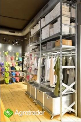 Regał sklepowy magazynowy odzieżowy