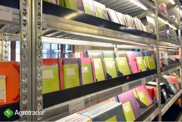 Regał sklepowy magazynowy regały do sklepu 2,5m