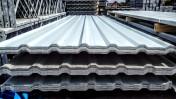 Blacha trapezowa T 18 biała dach ściana obicie hala blaszak garaż