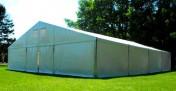 Namiot magazynowy przemysłowy garażowy 4x15x2,5 mtbtent.pl!