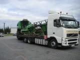 Transport kombajnów, maszyn rolniczych
