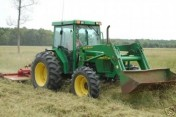 1998 John Deere 5510 With 541 Loader 1162 Hours
