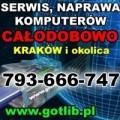 Serwis Komputerów Kraków Tel.793-666-747