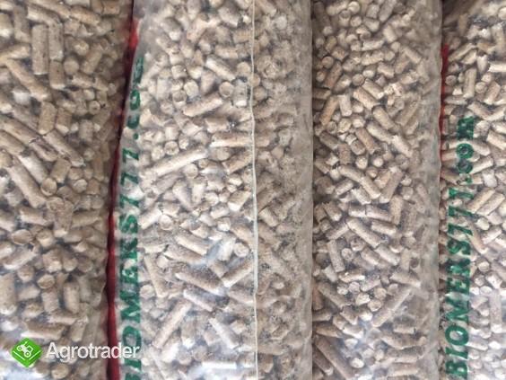 Pellet drzewny 6 mm sosna 100% worki 15 kg.  Dostawa.  - zdjęcie 1